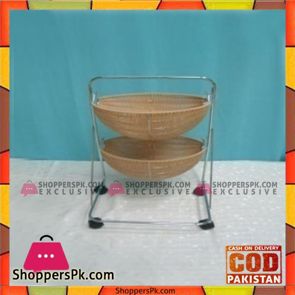 High Quality 2 Tier Fruit Basket