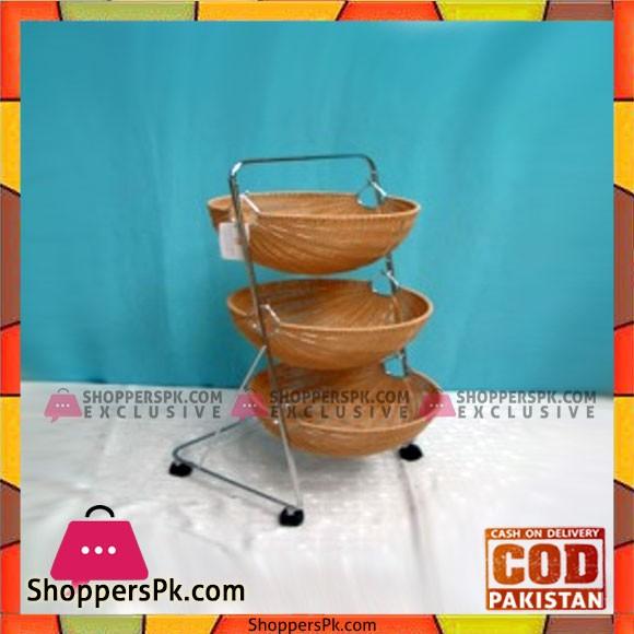 High Quality 3 Tier Fruit Basket