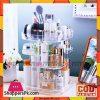 3-Tier Makeup Organizer 360 Degree Rotating Cosmetic Acrylic Storage Display Box