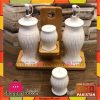4pcs Ceramic Sauce Set