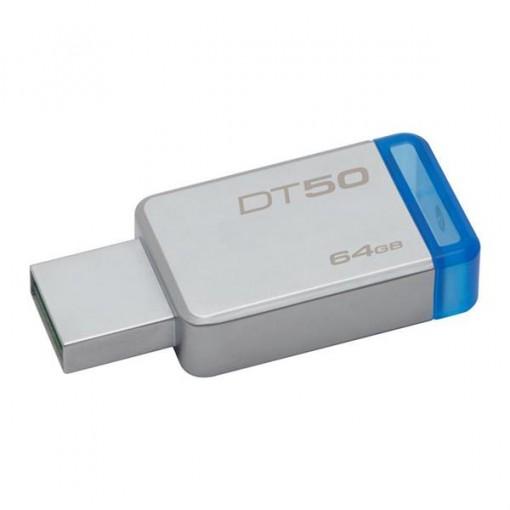 Kingston 64GB DataTraveler 50 USB 3.0 Flash Drive, Speed Up to 110MB/s (DT50/64GBFR)