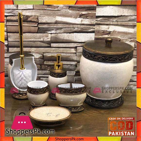 Buy 7pcs Bathroom Toilet Set At Best Price In Pakistan
