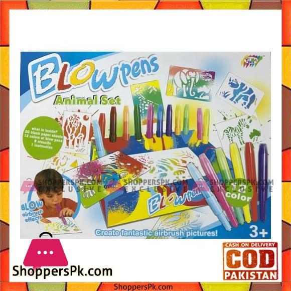 Blow Pens Animals Set