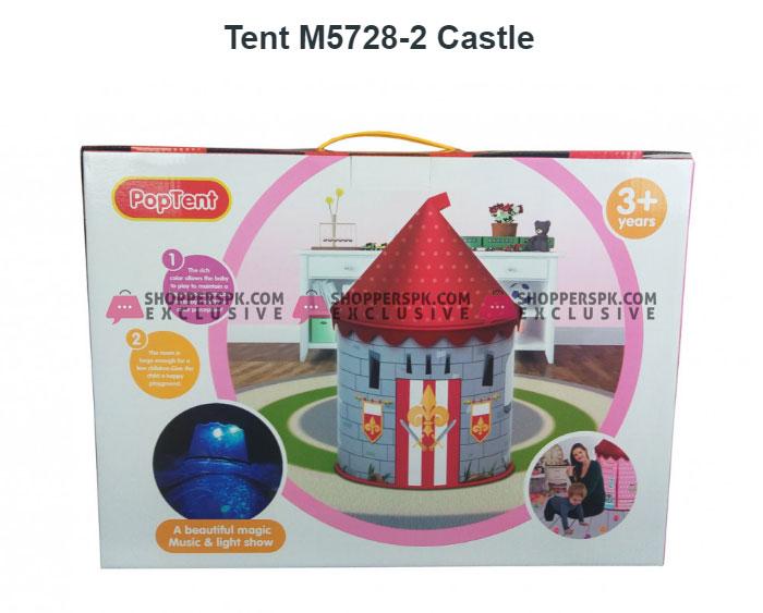 Castle Pop Tent 134 x 92 x 92 CM