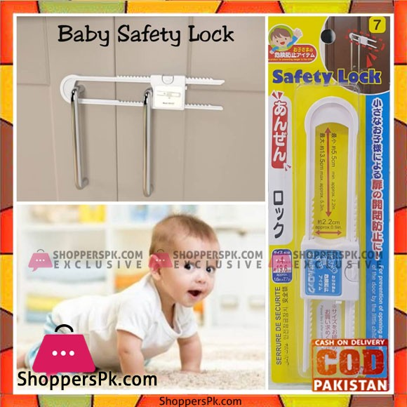 Child Safety Sliding Cabinet Lock 1 Pcs