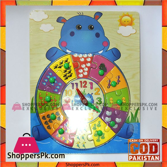 Educational Wooden Puzzle Toy
