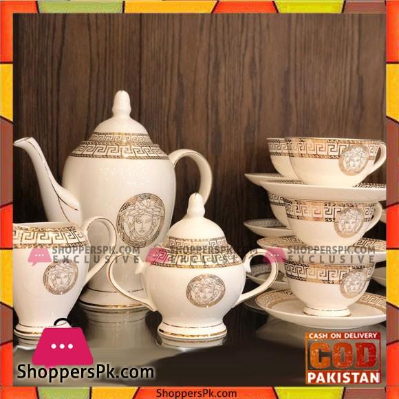 Fancy Luxury 15 pcs Tea Set