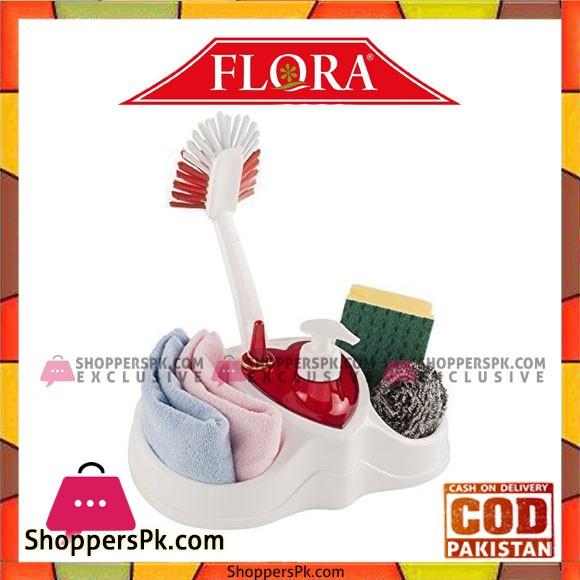 Flora Love Dish Washing Set