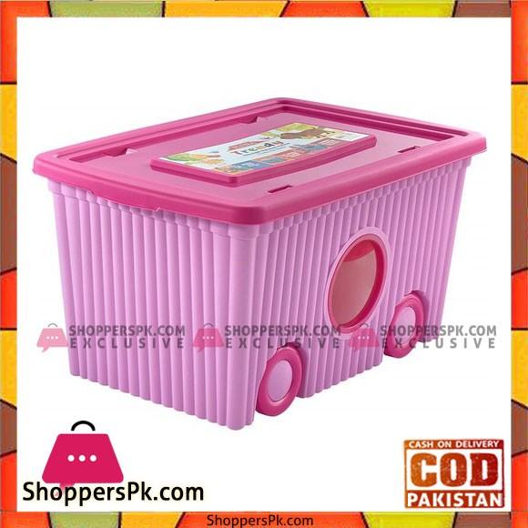 Flora Trendy Wheeled Toy Box - F379