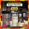 Happy Line Meal Box Stainless Steel Large