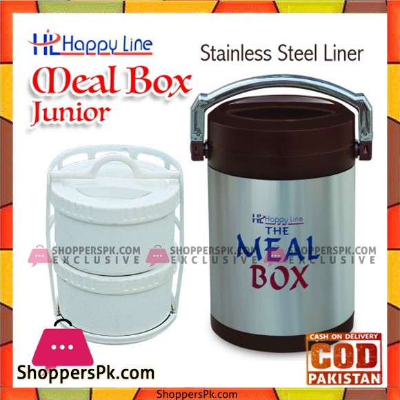 Happy Line Meal Box Stainless Steel Junior