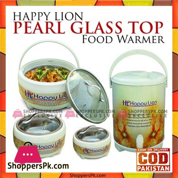 Happy Lion Pearl Glass Top 4 Pcs Gift Pack