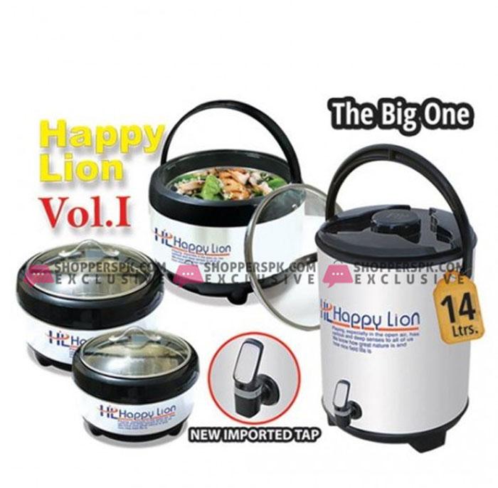 Happy Lion Vol .1 The Big One 4 Pcs Gift Set