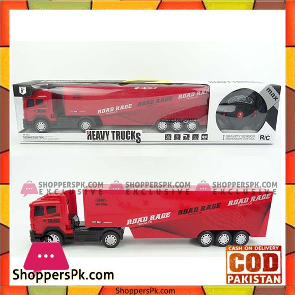 Heavy Truck with Remote Control Construction Toy Trucks With Light