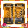 INGCO 16PCS Metal Concret and Wood Drill Bits Set - AKD9165