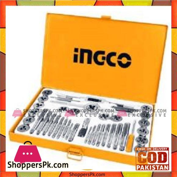 INGCO 40pcs Metric Tap & Die Set - ATAD0402