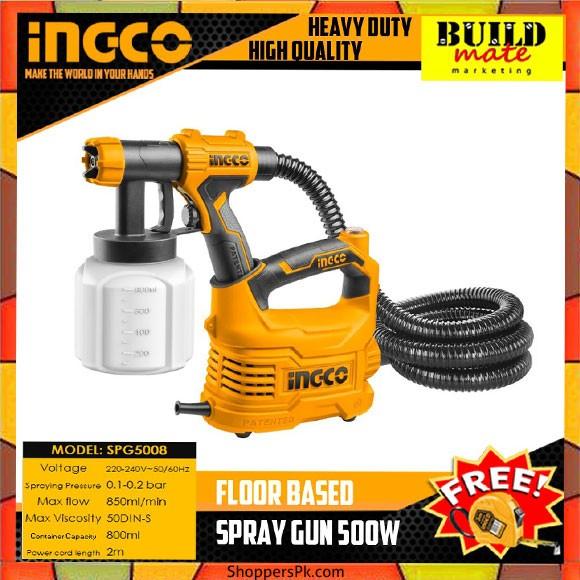 INGCO HVLP Floor Based Spray Gun - SPG5008-2