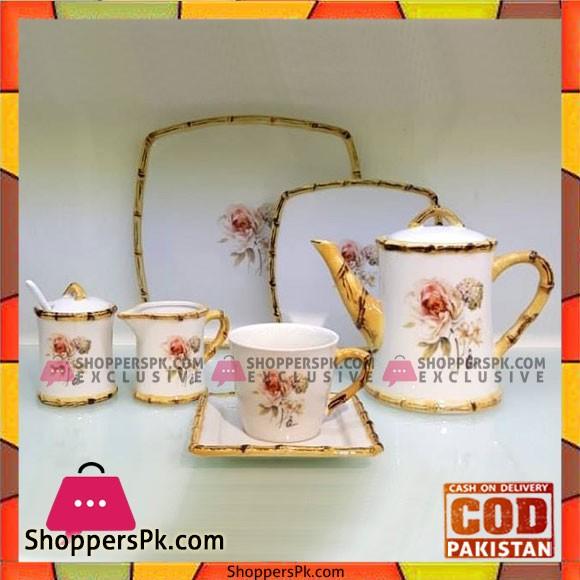Imperial Collection 24 Pcs Royal Tea Set