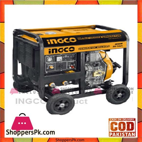 Ingco Diesel Generator & Welding Machine - GDW65001
