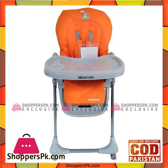 Morekiss Baby Feeding High Chair with Wheel