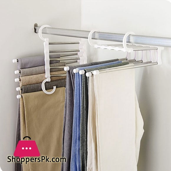 Multi-Functional Pants RacK / Clothes / Headscarf / Scarf / Hanger