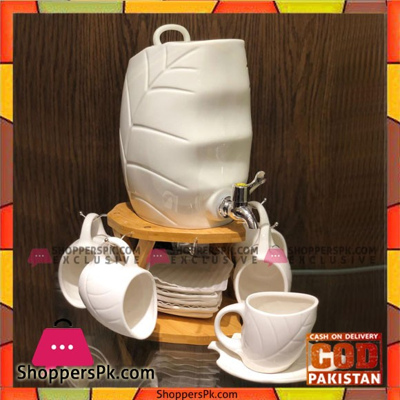 New Design Ceramic Tea Set