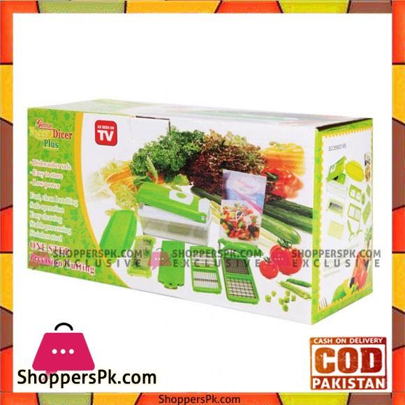 Nicer Dicer Vegetable & Fruit Cutter - Set of 12 Pieces
