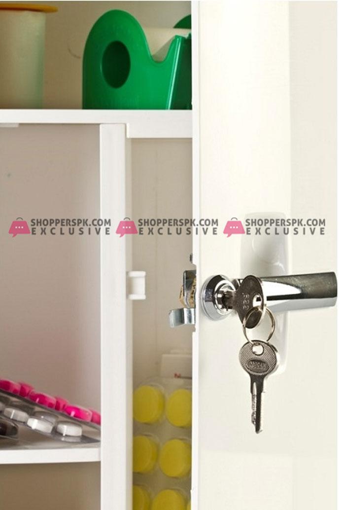 Primanova Medicine Cabinet with Locked Turkey Made 09501