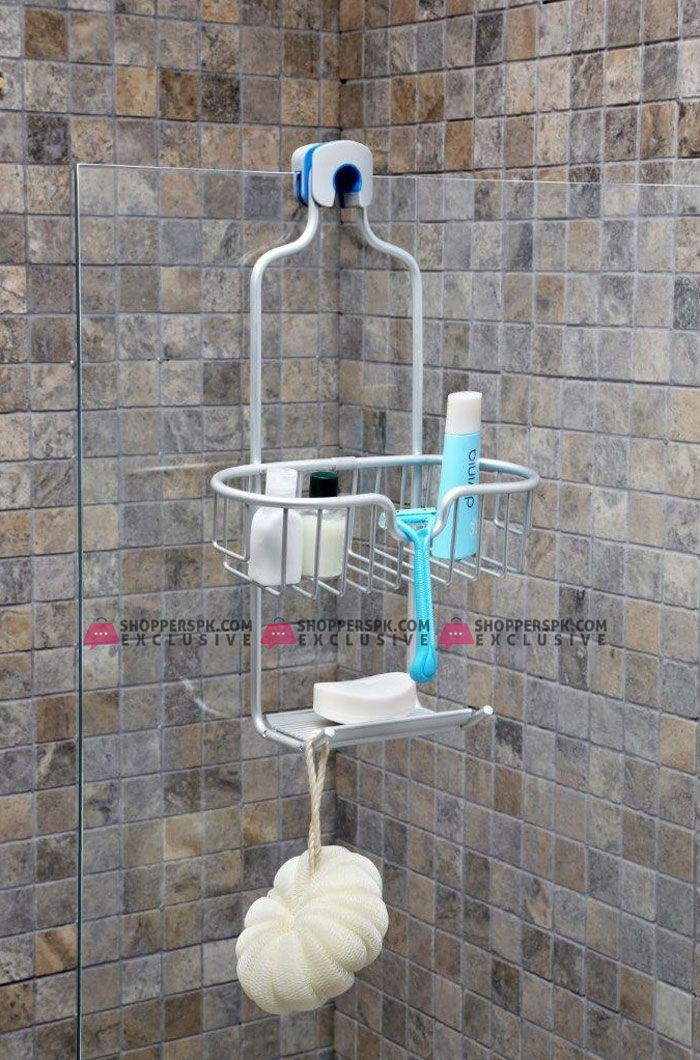 Primanova Paloma Aluminum Shower Basket Single Turkey Made M-N25-30