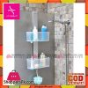 Primanova XL Shower Caddy Shelf Transparent With PP Material Turkey Made M-N34-16