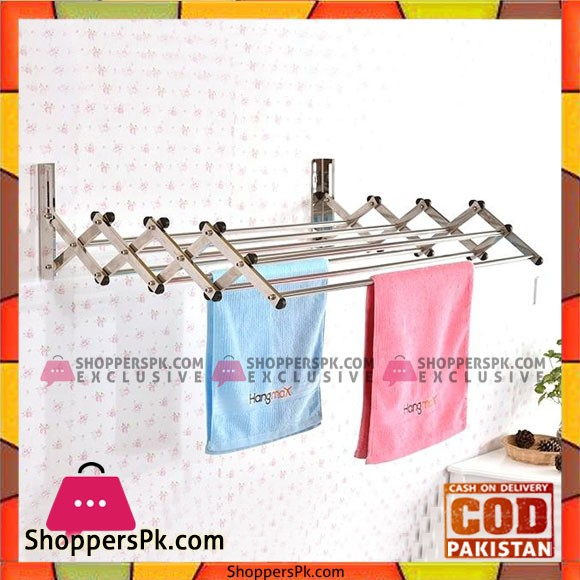 Wall Mounted Clothes Drying Rack Cloth Stand