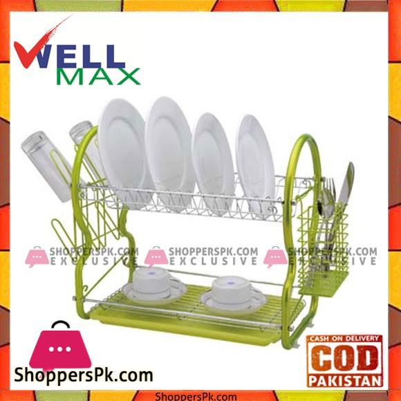 Wellmax Dish Rack - C1303N-16