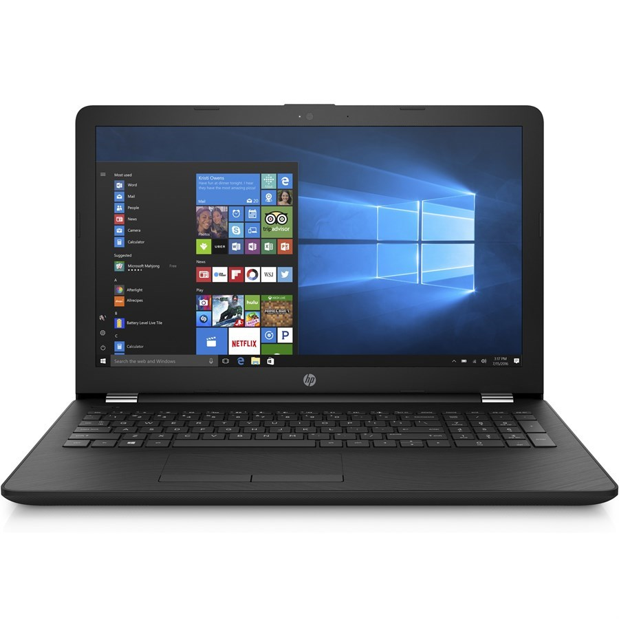 "HP BS166nia Notebook - 8th Gen Ci7 8550u 4GB 1TB 15.6"" HD (Sparkling black)"