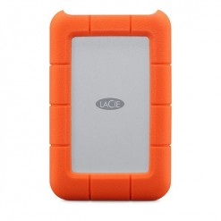 Lacie Rugged 2TB Thunderbolt & USB 3.0 with integrated Thunderbolt cable