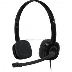 Logitech H151 Stereo Headset - PN 981-000587