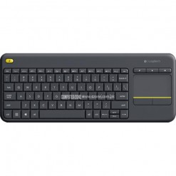 Logitech K400 Plus TV Wireless Touch Keyboard - Black: PN 920-007165