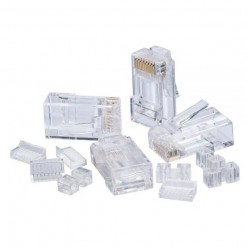 RJ-45 Connector Cat 6 Box (100 Pcs)