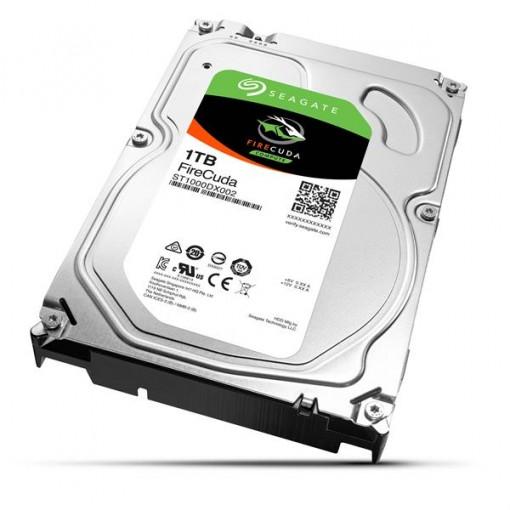 "Seagate FireCuda ST1000DX002 1TB 7200 RPM 64MB Cache SATA 6.0Gb/s 3.5"" Gaming SSHD Hybrid Hard Drive"