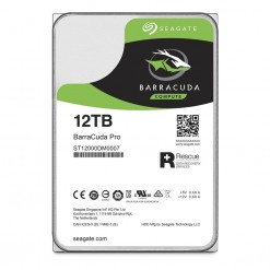 Seagate 12TB BarraCuda Pro SATA 6GB/s 3.5-Inch Internal Hard Drive (ST12000DM0007)