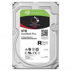 Seagate 8TB IronWolf NAS SATA 6Gb/s 3.5-Inch Internal Hard Drive (ST8000VN0022)