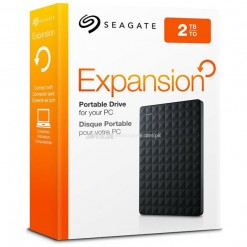 "Seagate Expansion 2TB USB 3.0 2.5"" Portable External Hard Drive STEA2000400"