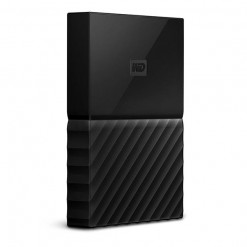 WD - My Passport 4TB External USB 3.0 Portable Hard Drive - Black