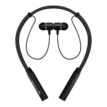 SPACE MOVE MV-690 - Wireless Neckband Earphones - Black