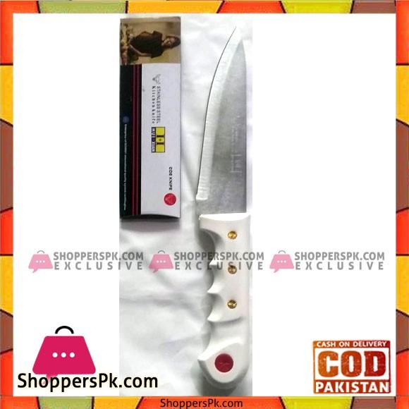 6 Inch Chef's Knife - White