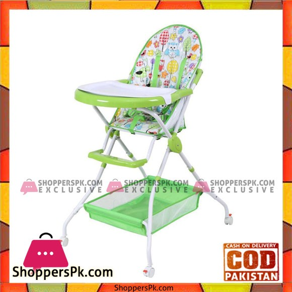 Baby High Chair - Green