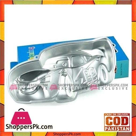 Car Cake Pan Tin Mould Decorating Tools Aluminum Food Grade Fondant Silicone Molds