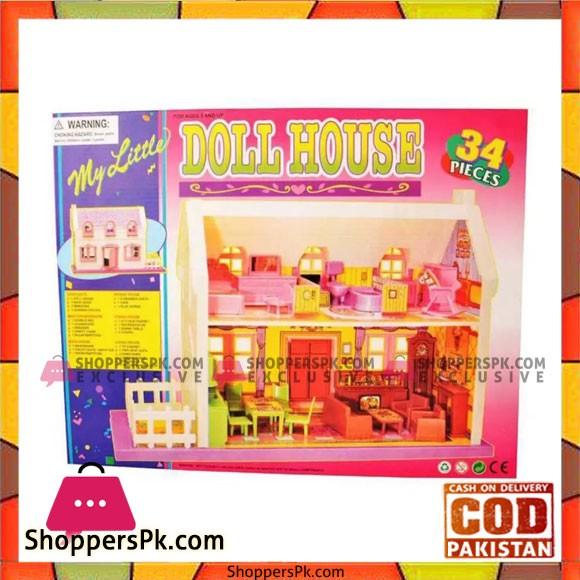 Doll House 34 Pcs