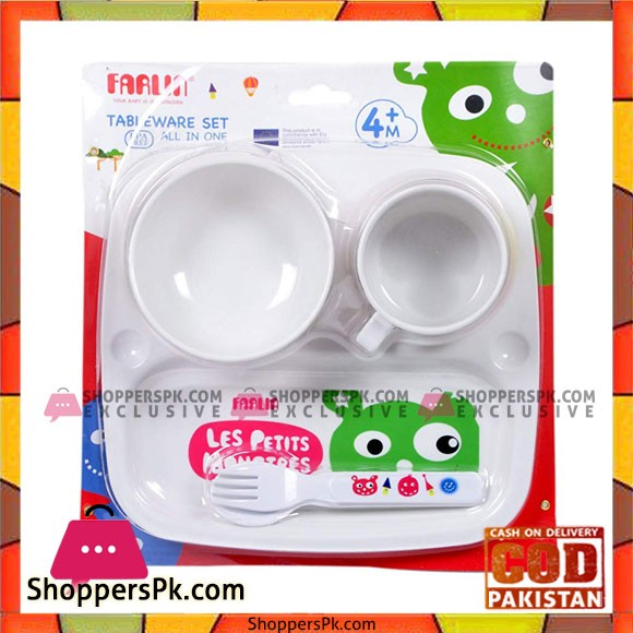 Farlin Tableware Set All in One 4+ Month