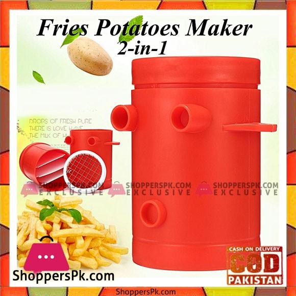 1pcs Fries Potatoes Maker Potato Slicers French Fries Maker