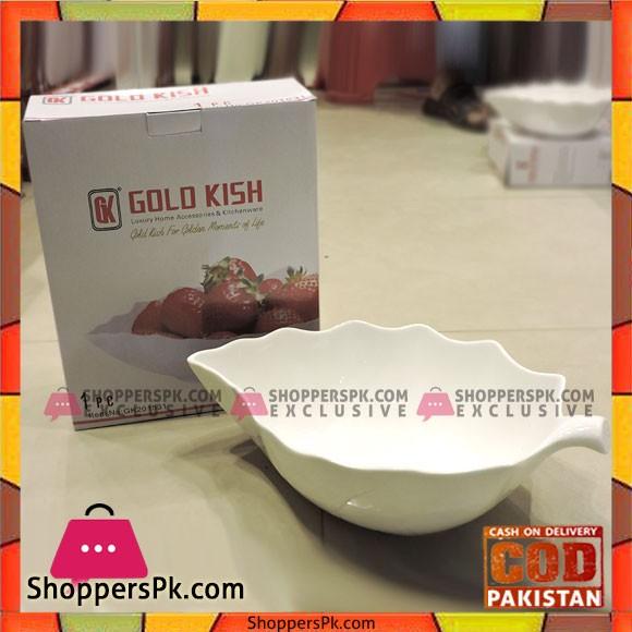 Gold Kish 1pcs Salad Dish Big Model - GK201531